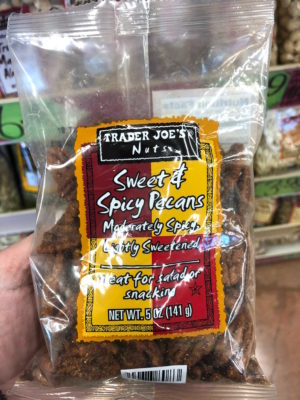 TJ's sweet and spicy pecans