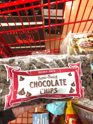 TJ's chocolate chips